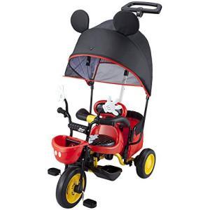 三輪車 乗用玩具 おもちゃ 子供用 キッズ カーゴサンシェード ミッキーマウス hihshop