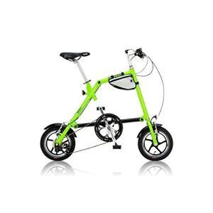 折りたたみ 自転車 自転車本体 NANOO(ナノー) 折りたたみ自転車 12インチ アルミ製 シマノ7段変速 専用輸行バッグ/トライフレームバッグ付属 hihshop