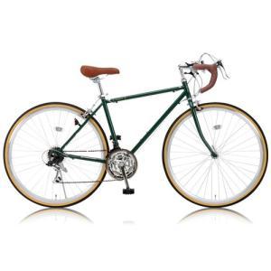 自転車本体 RayChell(レイチェル) クラシック ロードバイク 700C シマノ21段変速 RD-7021R 2WAYブレーキシステム サムシフター [メーカー保証1年]|hihshop