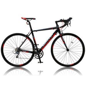 自転車本体 カノーバー ロードバイク 700C シマノ16段変速 CAR-011(ZENOS) 軽量クランク アルミフレーム フロントLEDライト付 [メーカー保証1年]|hihshop