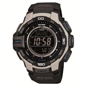 腕時計 メンズ腕時計 アクセサリー [カシオ]Casio 腕時計 PROTREK カシオ プロトレック トリプルセンサーVer.3搭載 ソーラーウォッチ PRG-270-7JF メンズ|hihshop
