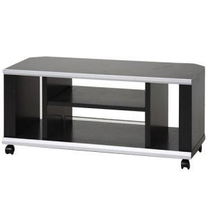 アイリスオーヤマ テレビ台 薄型 コーナー 幅89.0×奥行40.0×高さ41.2cm ブラック DNT-900 hihshop