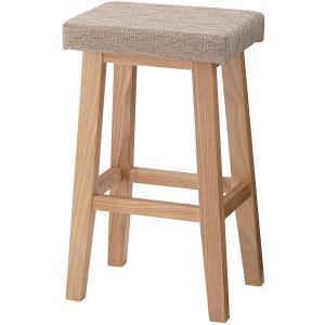 東谷 AZUMAYA ハイスツール スツール 椅子 チェア バンビベージュ色 CL-789CBE