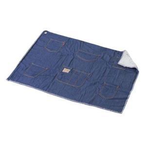 ブランケット 毛布 寝具 布団 AZUMAYA ブランケット デニム地 GLS-436D|hihshop