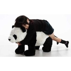 不二貿易 座れるパンダのぬいぐるみ(耐荷重80kg)パンダ B3851-39 82479|hihshop