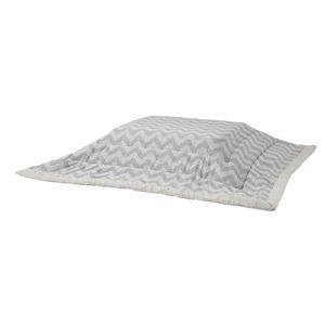 上掛け こたつ掛け布団 こたつ布団 こたつ 炬燵 AZUMAYA 薄掛けこたつ布団 シェブロン 正方形 (190×190) KK-131|hihshop
