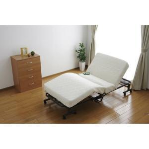 アイリスオーヤマ 折りたたみコイル電動ベッド OTB-CDN hihshop