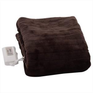 ひざ掛け 電気毛布 空調家電 冷暖房器具 山善 ふわふわもこもこ 電気敷毛布(140×80cm) 表面フランネル・裏面プードルタッチ仕上げ YMS-F33P(T)|hihshop