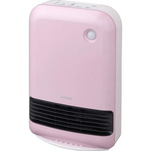 セラミックヒーター アイリスオーヤマ 1200W マイコン式 人感センサー付き ヒーター おしゃれ あったか 暖房 セラミックファンヒーター JCH-12TD3|hihshop