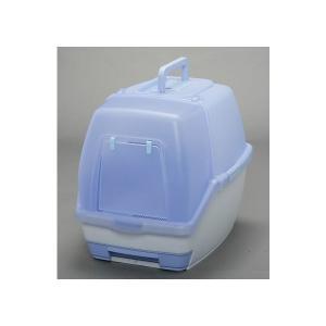 アイリスオーヤマ 1週間取り替えいらずネコトイレ フルカバーセット 大玉用 パープル TIO-530F|hihshop