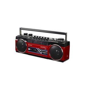 ラジオ ラジカセ ミニコンポ カメラ SANSUI Bluetooth搭載ラジカセ【USB/SDカードMP3再生対応】 SCR-B2【RD】 hihshop 02
