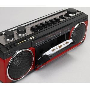 ラジオ ラジカセ ミニコンポ カメラ SANSUI Bluetooth搭載ラジカセ【USB/SDカードMP3再生対応】 SCR-B2【RD】 hihshop 03