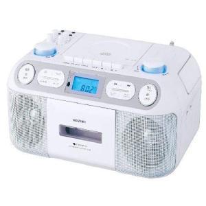 CDラジカセ ラジカセ ミニコンポ オーディオ機器 コイズミ CDラジカセ(ホワイト)KOIZUMI SAD-4942-W hihshop