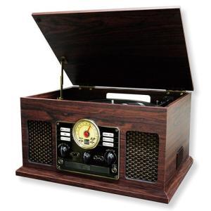レコードプレーヤー オーディオコンポーネント オーディオ機器 カメラ ブルートゥース搭載クラシックレコードプレーヤー|hihshop