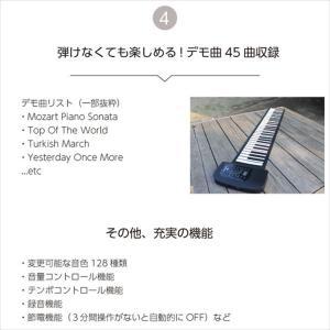 スマリー(SMALY) 電子ピアノ ロールアップピアノ 61鍵盤 持ち運び (スピーカー内蔵) SMALY-PIANO-61 hihshop 07