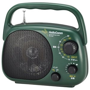 ラジオ ラジカセ ミニコンポ カメラ Audio Comm 豊作ラジオDX RAD-F439N|hihshop