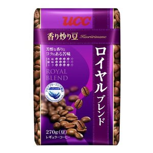 UCC 香り炒り豆 ロイヤルブレンド AP 270g|hihshop