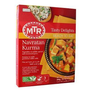 MTR ナヴラタンコルマ 9種類の野菜とナッツのカレー 300g カレー ナッツ レトルトカレー