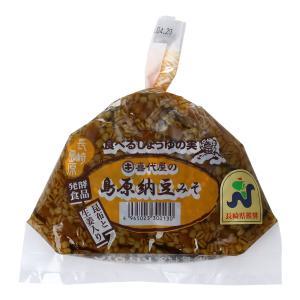 みそ 油 料理の素 調味料 みそ五郎の蔵 喜代屋 島原納豆みそ 袋 300g|hihshop
