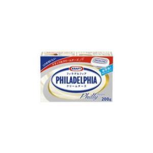 森永 KRAFT クラフト フィラデルフィア クリームチーズ 200g|hihshop