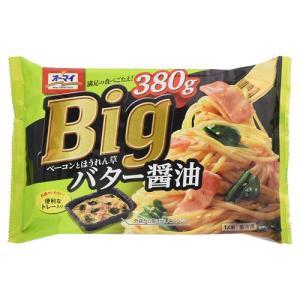 日本製粉 オーマイBIGベーコンとほうれん草バター醤油 380g hihshop