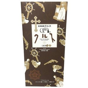 和菓子 食品 長崎 お土産 銘菓 小浜食糧 長崎銘菓クルス(珈琲)12枚入|hihshop