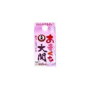 日本酒 お酒 大関 あまくちパック 900mL|hihshop