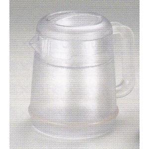 まとめ買い特価:BK リトルピッチャー丸型(ポリカーボネイト)1.3L クリヤー 品番:HF-625-A【10個入り】|hikari-chyubo