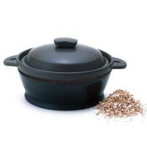 サーモス 保温燻製器 イージースモーカー RPD-13 真空断熱技術で保温するだけ本格的な燻製ができる 焼き芋用焼き石付 レシピ付|hikari-chyubo