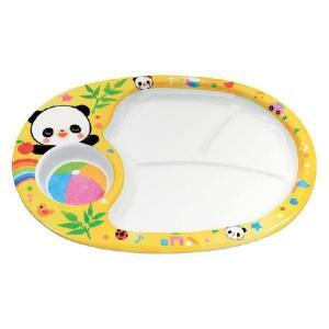 エンテック  メラミン 赤ちゃんパンダ ランチ皿 L-7 |hikari-chyubo