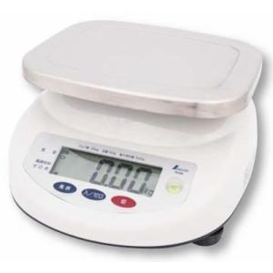 シンワ デジタル上皿はかり 取引証明用(検定証印付) 防塵・防水 6kg  品番:70192|hikari-chyubo