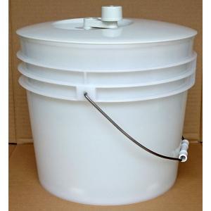 野菜水切器 バリバリサラダ バケツタイプ|hikari-chyubo
