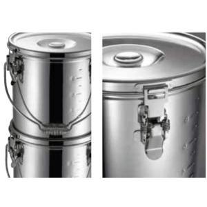 仔犬印 KO 19-0 電磁調理器IH対応 スタッキング 給食缶 21cm|hikari-chyubo|03