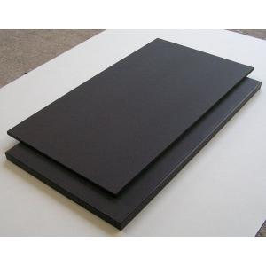 ハイコントラストまな板(黒まな板)550×270×30mm 両面シボ付 規格:K2|hikari-chyubo