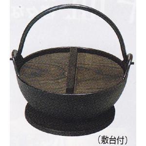 トキワ やまが鍋(鉄製内面茶ホーロー仕上げ)16cm(敷台付)|hikari-chyubo
