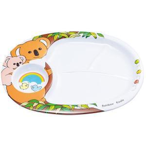 エンテック メラミン お子様ランチ皿 コアラ L-6|hikari-chyubo