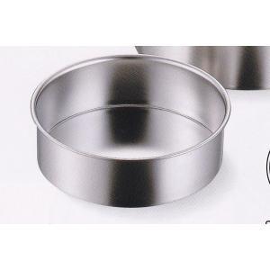 AG 18-8ステンレス(SUS304)共底デコ缶 15cm 品番:99515|hikari-chyubo