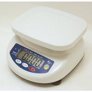 シンワ防水デジタル上皿はかり 秤量6kg 70105|hikari-chyubo