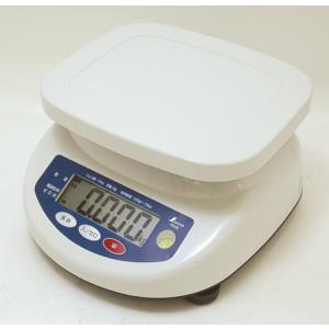 シンワ防水デジタル上皿はかり 秤量15kg 70106|hikari-chyubo