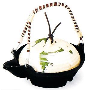 アルミ 宝楽片口鍋(織部流し)大 品番:41-5(32156)|hikari-chyubo