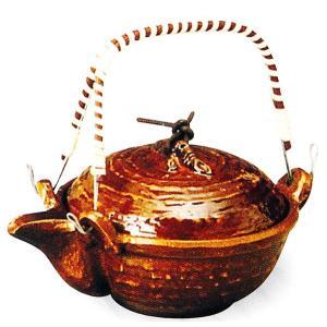 アルミ 竹蓋片口鍋(アメ釉)のみ 品番:42-3|hikari-chyubo