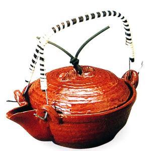 アルミ 竹蓋片口鍋(赤楽)品番:42-6|hikari-chyubo