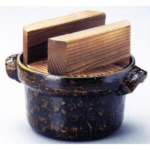 2合ごはん鍋(焼杉木蓋)品番:51-1|hikari-chyubo
