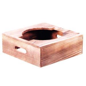 トナミ アルミ製 電磁用(IH対応) 2合ごはん鍋用焼杉ハカマ 品番:117-6|hikari-chyubo