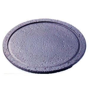 トナミ アルミ製 電磁用(IH対応)遠赤丸溶岩陶板Ф28(ナノ加工フッ素)品番:119-6|hikari-chyubo