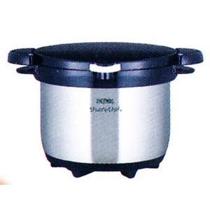 サーモス真空保温調理器シャトルシェフ(クリアステンレス)20cm両手3.0L品番:KBG-3000 hikari-chyubo