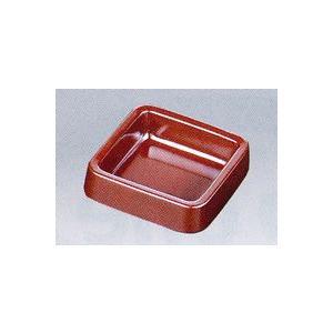 A-271BR カラー灰皿(正角)茶|hikari-chyubo