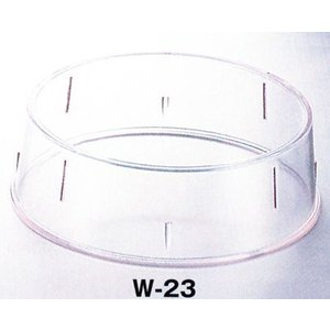 W-23 丸皿枠(23cm〜25cm用)抗菌|hikari-chyubo