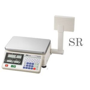 A&D SR-15K デジタル料金はかり タワー型 15kg(検定付)|hikari-chyubo