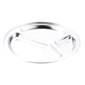 本間製作所 仔犬印 18-8ステンンレス ランチ皿 25cm 板厚:0.6mm hikari-chyubo